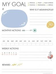 92 best goal setting images on pinterest goal planning personal