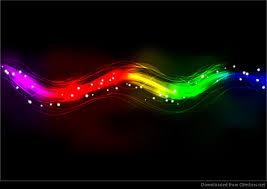 Spectrum Lighting Blurry Abstract Neon Spectrum Light Effect Background Vector
