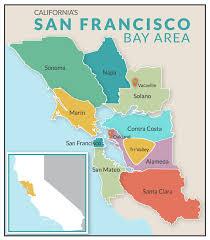 san francisco map california friendly san francisco bay area