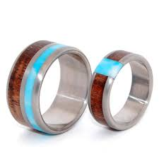 titanium wedding ring sets minter richter titanium rings wooden wedding rings minter