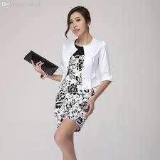 2017 wholesale women summer dress suit office work new 2016 set