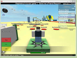 how to money hack on roblox tycoons with pictures wikihow