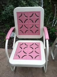 74 best vintage metal lawn chair love images on pinterest metal
