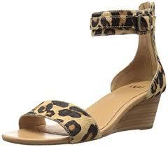 ugg platform sandals sale amazon com ugg s char leopard wedge sandal platforms