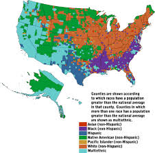 map us geographical censusscope demographic maps geographic variations