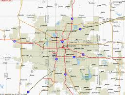 Oklahoma travel maps images Oklahoma city limits map archives map travel holiday vacations gif