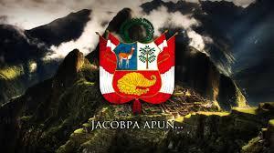 Quechua Flag National Anthem Of Peru Quechua Version