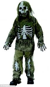 Zombie Halloween Costumes Boys Children Young Dressing Zombies Serial