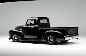 truck car black 1951 chevrolet truck just a hobby rod network