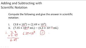 scientific notation in chemistry ck 12 foundation