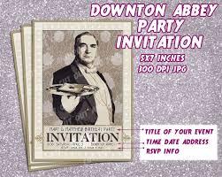 Downton Favors by Downton Invitation Card Printable Invitation Card