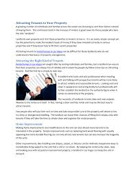 attracting tenants to your property by seth jenkins issuu