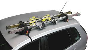 porta sci per auto portasci magnetico magnetech pro per 2 paia sci cora 000420420