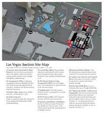 Las Vegas Boulevard Map by Barrett Jackson Auction Company Las Vegas 2016