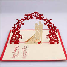 wedding wishes envelope aliexpress buy 3d laser cut stereoscopic groom