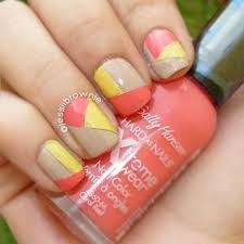 neon ish geo nails u2013 jessiibrownie
