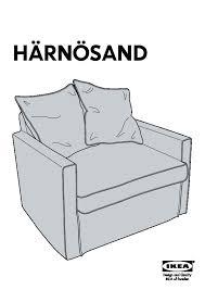 housse canapé convertible ikea ikea fauteuil lit une place harnasand housse de fauteuil