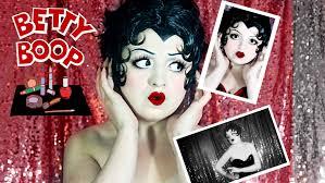 betty boop halloween betty boop makeup tutorial transformation lacey noel youtube