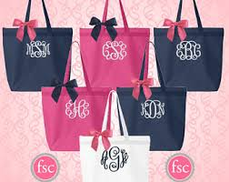 bridesmaid gifts cheap 8 bridesmaid tote bags bachelorette gifts bridal