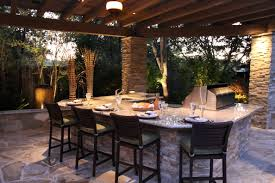 Brinkmann Backyard Kitchen by Custom Outdoor Kitchens