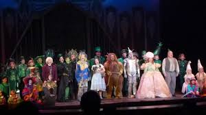 Oz Curtain 3d Theatricals Wizard Of Oz Closing Night Curtain Call Youtube