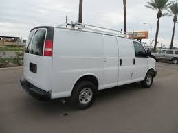used 2010 chevrolet express g3500 panel cargo van for sale in az