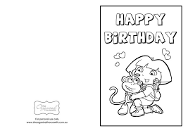 kids birthday printable birthday greeting cards kids free