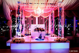 fern n decor indian wedding decorator nj mandap stage decor