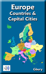 Europe Capitals Map by Amazon Com Europe Countries And Capital Cities Appstore For Android