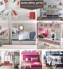 Bunk Beds And Lofts The Shared Room Bunk Beds Loft Beds U0026 Ideas Galore Posh Little