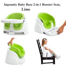 Booster Chairs For Toddlers Eating by Ingenuity Baby Base 2 In 1 Booster Seat Lime From Top Rated