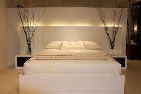 chambre a coucher blanc design deco chambre a coucher blanche mobilier décoration