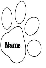 paw print sheets paw print coloring page paw print coloring pages dog paw print
