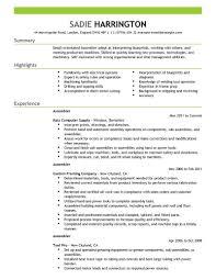 warehouse resume exles best assembler resume exle livecareer