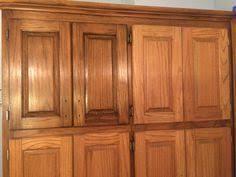 Stain Oak Cabinets Best 25 Staining Oak Cabinets Ideas On Pinterest Oak Cabinets
