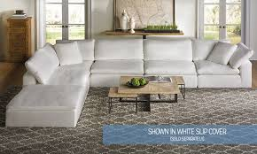 slipcover for sectional sofa slipcovered sectional sofa canada 1025theparty com