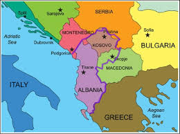 Balkans Map A New Harbinger And An Enabler For The Iranian Invasion U2013 The