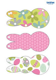 easter rabbits decorations printable easter decorations supplies free templates