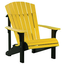 amish deluxe poly adirondack chair