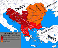 Map Of Serbia Serbian Empire By Serbiandinosaur On Deviantart