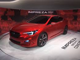 2017 subaru impreza sedan white 2017 subaru impreza hinted by l a show concept live photos