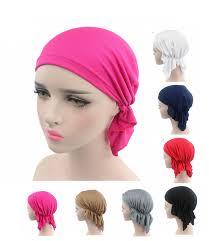 pre chemo new breathable bandana scarf pre tied cotton chemo beanie hat