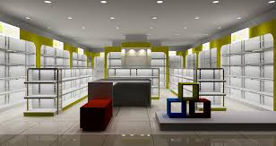 shop interior design brand sports shoes store interior design rendering 3d house