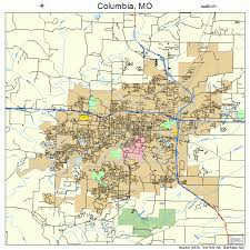 columbia missouri map columbia missouri map 2915670