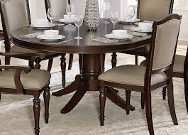 homelegance marston pedestal dining table dark cherry 2615dc 72