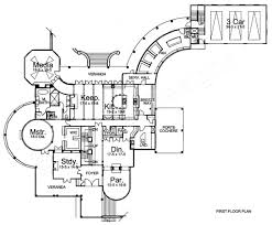 Breeze House Floor Plan by Cordelia Traditional House Plans Mansion House Plans