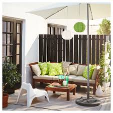 Ikea Patio Chair Cushions äpplarö Sofa Outdoor Brown Stained Hållö Beige Ikea