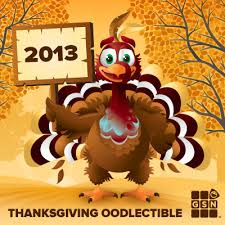 2013 thanksgiving oodlectibles player news
