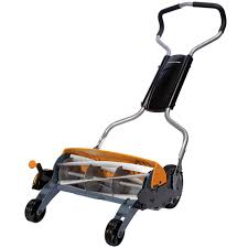shop fiskars inches reel lawn mower at lowes com