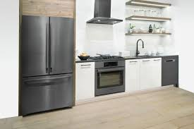pictures of white kitchen cabinets with black stainless appliances modern black appliances for your home hgtv